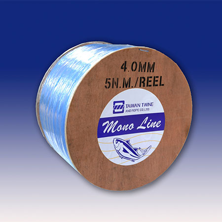 Nylon monofilament vislijn in haspel - NM-WR